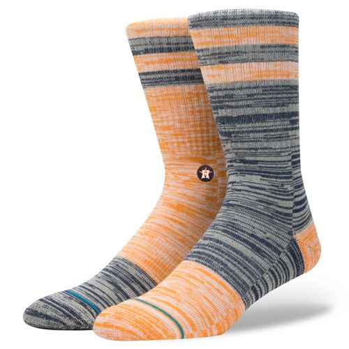 Stance Men's Houston Astros Greystone Socks - view number 1