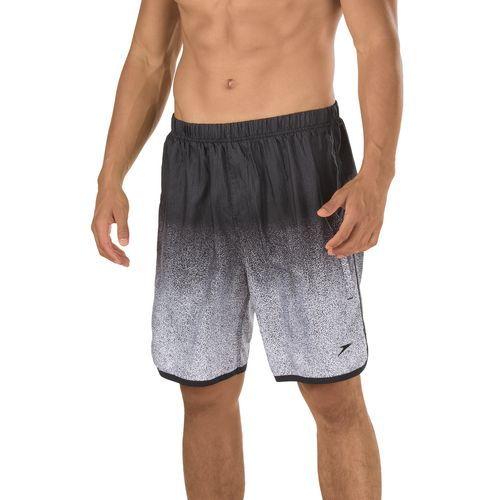 Speedo Men's Texture Blend Hydrovolley Swim Trunk with Compression Jammer