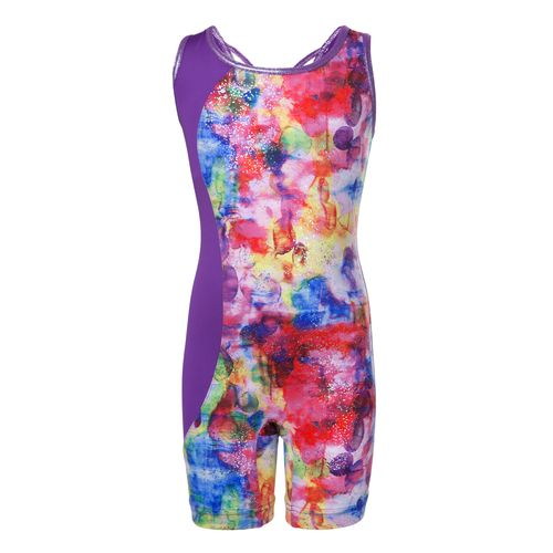 Capezio Girls' Future Star Watercolor Biketard