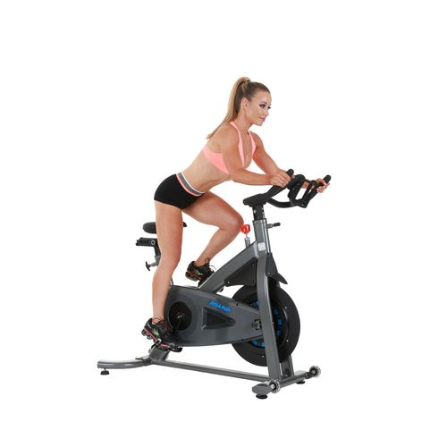 Sunny Health & Fitness Asuna 5150 Magnetic Turbo Commercial Indoor Cycling Trainer Bike - view number 9