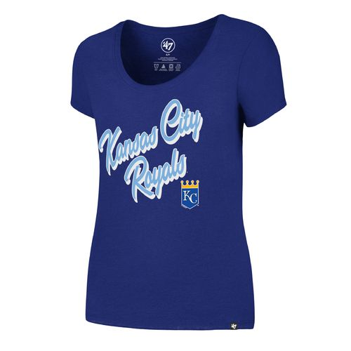 '47 Kansas City Royals Women's Script Club T-shirt - view number 1