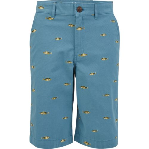 Magellan Outdoors Boys' Summerville Poplin Printed Short