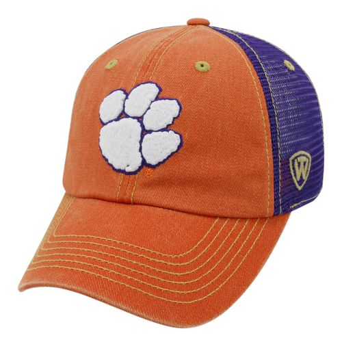 Top of the World Men's Clemson University Past Adjustable 2-Tone Cap