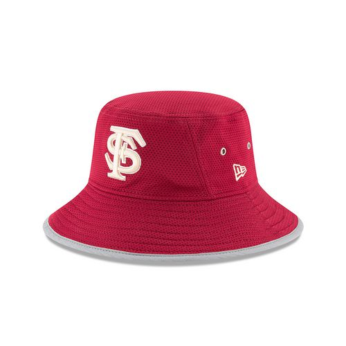 New Era Men's Florida State University Team Training Bucket Hat