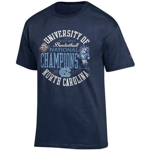 Champion Men's University of North Carolina 2017 NCAA Men's National Champs Circle T-shirt