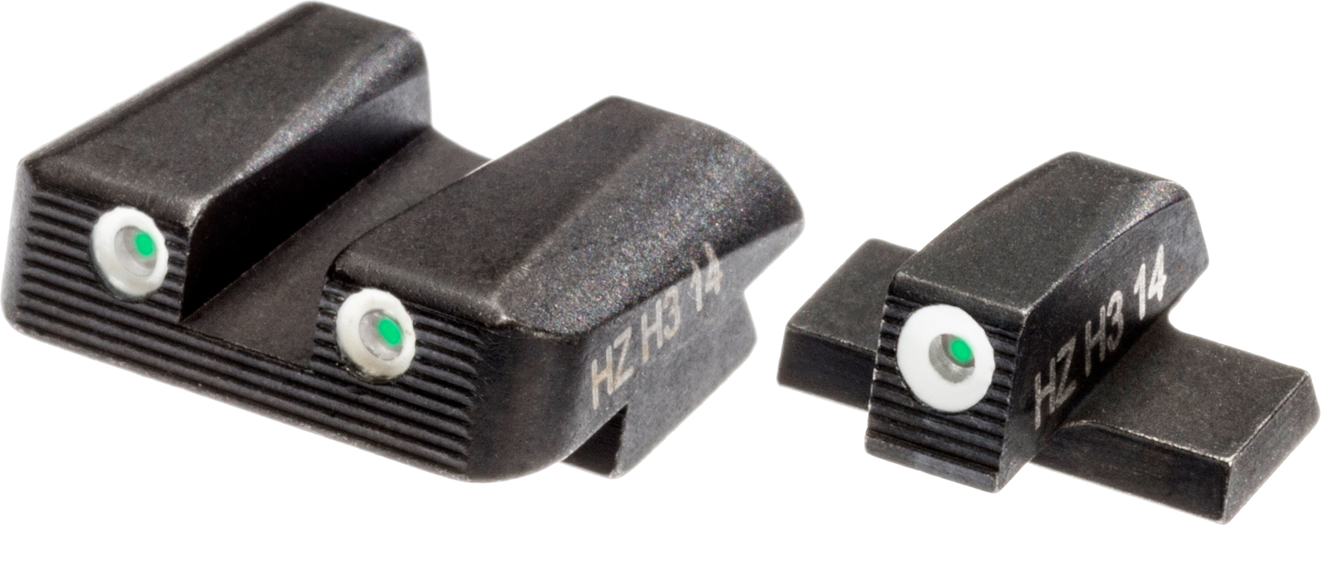 HIVIZ Shooting Systems NITESIGHT Tritium Front and Rear SIG SAUER Pistol Sight Set - view number 1