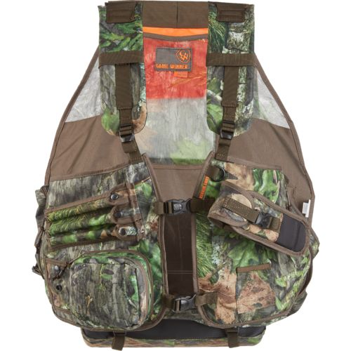 Game Winner Men's Camo Deluxe Strap Turkey Vest