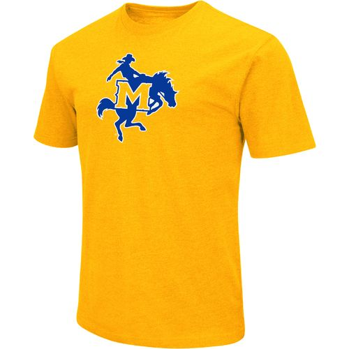 Colosseum Athletics Men's McNeese State University Logo Short Sleeve T-shirt