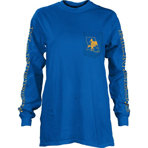 Three Squared Juniors' McNeese State University Mystic Long Sleeve T-shirt