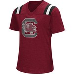 Colosseum Athletics Girls' University of South Carolina Rugby Short Sleeve T-shirt - view number 1