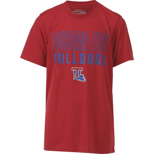 Colosseum Athletics Boys' Louisiana Tech University Team Mascot T-shirt