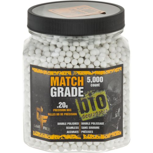 Crosman Game Face 0.20 g Match-Grade Biodegradable BBs 5,000-Pack - view number 1
