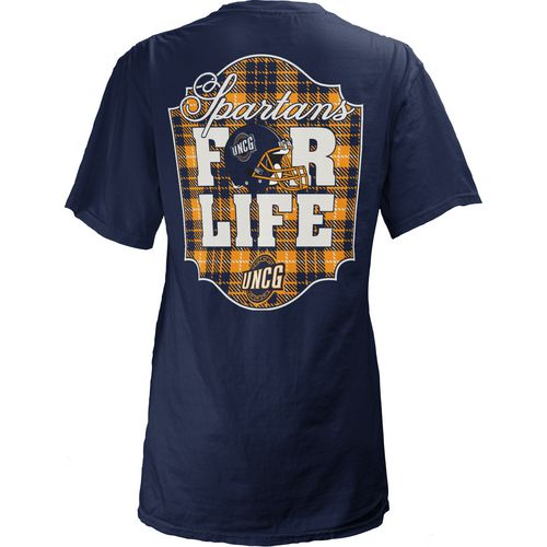 Three Squared Juniors' University of North Carolina at Greensboro Team For Life Short Sleeve V-n