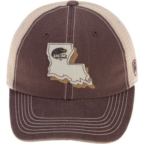 Top of the World Men's University of Louisiana at Monroe United 2-Tone Adjustable Cap