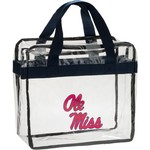 Forever Collectibles University of Mississippi Clear Messenger Bag - view number 1
