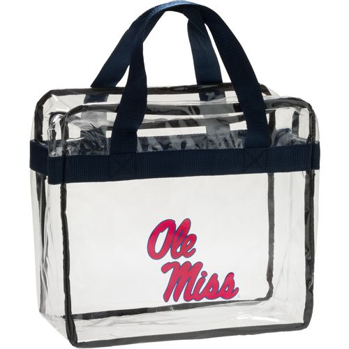 Forever Collectibles University of Mississippi Clear Messenger Bag