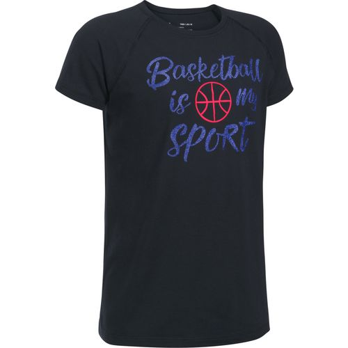 Under Armour Girls' Basketball Is My Sport Short Sleeve Graphic T-shirt