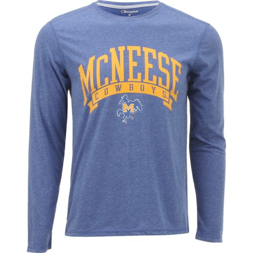 Champion Men's McNeese State University In Pursuit Long Sleeve T-shirt