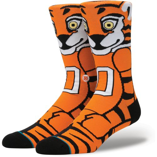 Stance Men's Clemson University The Tiger Team Mascot Socks