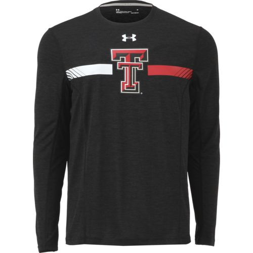 Under Armour Men's Texas Tech University Sideline Long Sleeve Training T-shirt