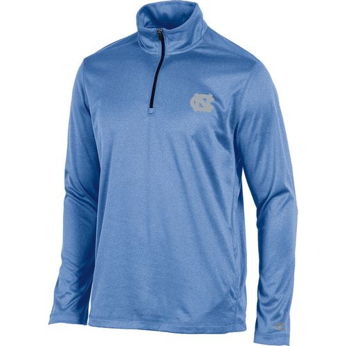 Champion Men's University of North Carolina Victory 1/4 Zip Long Sleeve Pullover