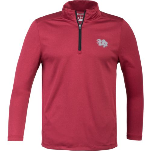 Champion Men's University of South Carolina Victory 1/4 Zip Long Sleeve Pullover