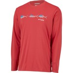 Columbia Sportswear Men's Terminal Tackle Freedom Fish Long Sleeve T-shirt - view number 3
