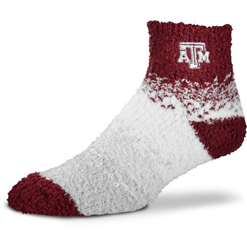 For Bare Feet Women's Texas A&M University Marquee Sleep Soft Quarter Socks