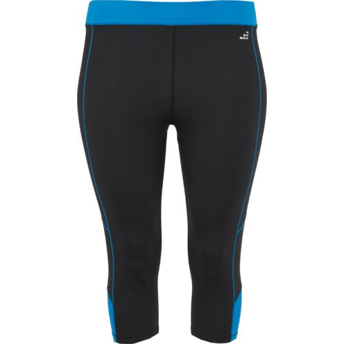 Display product reviews for BCG Women's Colorblock Plus Size Training Capri Pant