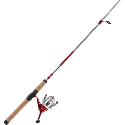 Display product reviews for Shakespeare Catch More Fish 6 ft 6 in M Bass Spinning Rod and Reel Combo Kit