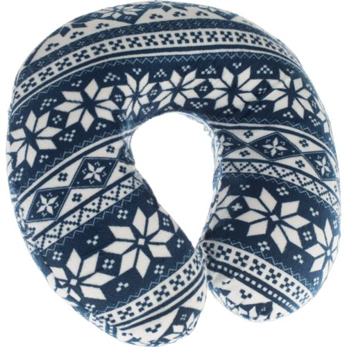 Northpoint Trading Snowflake Memory Foam Travel Pillow