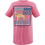 Love & Pineapples Women's I Work Hard Short Sleeve T-shirt - view number 3