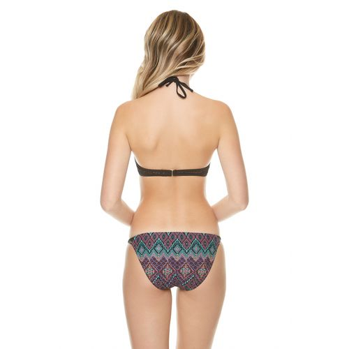 O'Rageous Juniors' Tunisian Mosaic Molded Bra Swim Top - view number 1