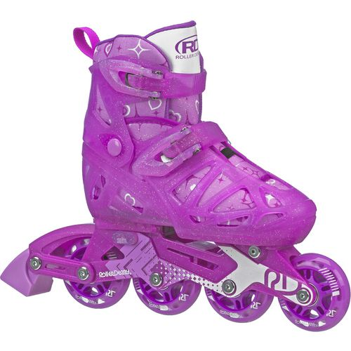 Roller Derby Girls' Tracer Size Adjustable In-Line Skates
