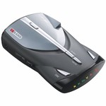 Cobra XRS 9445 12-Band High-Performance Radar/Laser Detector with Voice Alert