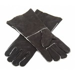 Outdoor Gourmet Adults' Leather Barbecue Gloves