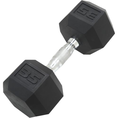 CAP Barbell 35 lb. Coated Hex Dumbbell