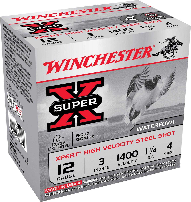 Winchester Xpert® Hi-Velocity Steel 12 Gauge Shotshells