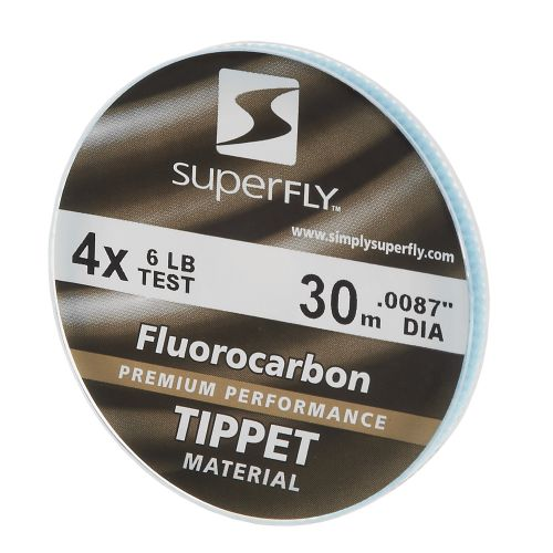 Superfly 4X 30 m Fluorocarbon Tippet Material - view number 1