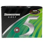 Bridgestone Golf E5 Distance Control Golf Balls 12-Pack