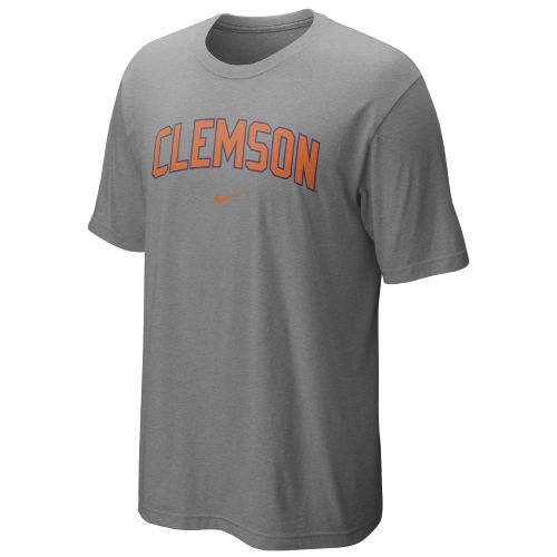 Nike Men's Clemson University Short Sleeve Classic Arch T-shirt