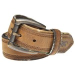 Browning Men's Crazy Horse Camo Edge Belt