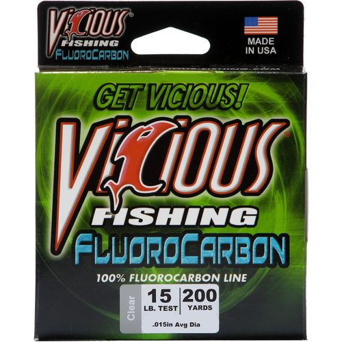 Display product reviews for Vicious 15 lb. - 200 yards Fluorocarbon Fishing Line