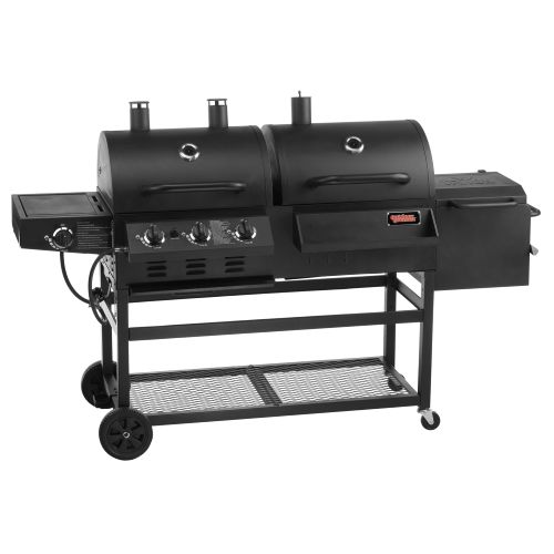 Outdoor Gourmet Triton 4-Burner Propane and Charcoal Grill