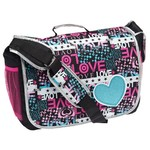 Accessories 22 Girls' Love Patch Full Size Messenger Bag