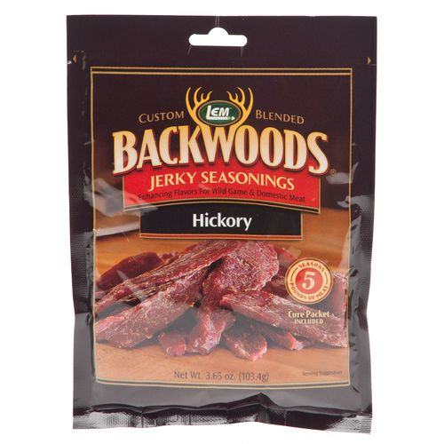 Display product reviews for LEM Backwoods Hickory Jerky Seasoning