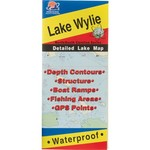 Fishing Hot Spots Lake Wylie Fishing Map