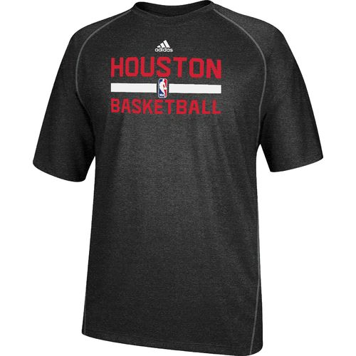 Image for adidas Men's Houston Rockets climalite® Short Sleeve T-shirt from Academy