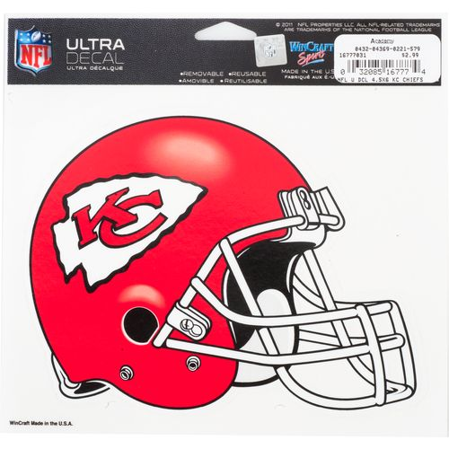 "WinCraft NFL 5"" x 6"" Ultra Decal"