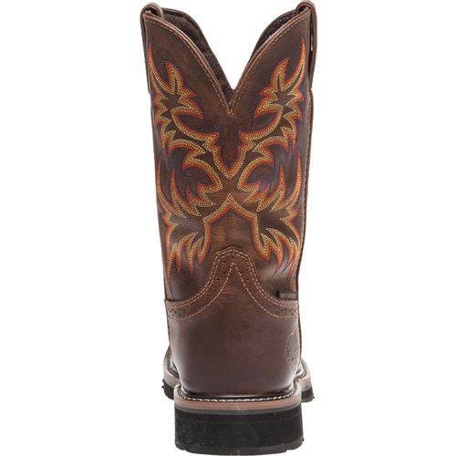 Justin Men's Rugged Cowhide Waterproof Steel Toe Western Work Boots - view number 4